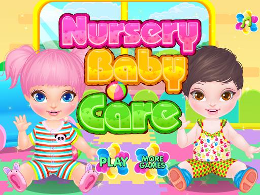 幼儿园照顾婴儿游戏