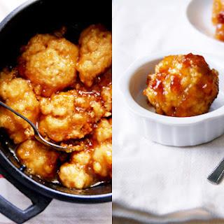 Golden Syrup Dumplings.