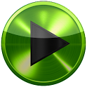 PowerAmp SKIN LIME GREEN METAL icon