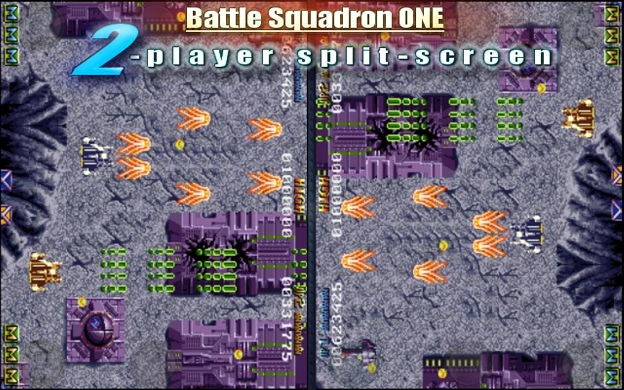 Battle Squadron- screenshot