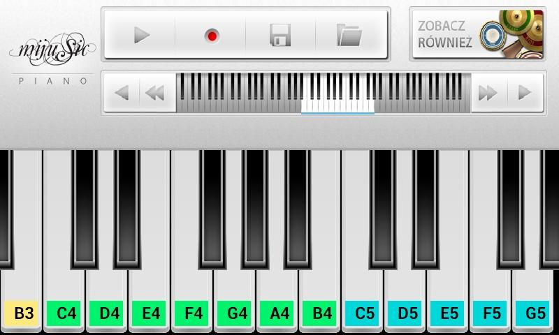 Mijusic Piano - screenshot