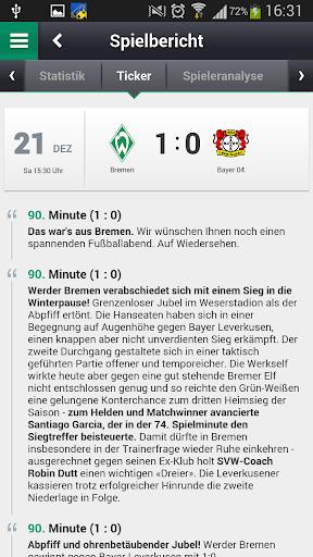 【免費運動App】Mein Werder-APP點子