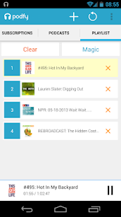 PODFY - Podcast Player - screenshot thumbnail