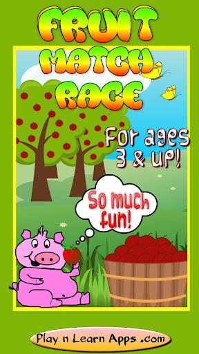 Fruit Game For Kids Color App