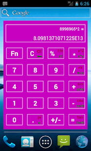 Widget Calculator (NO ADS)- screenshot thumbnail
