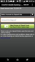 Screenshot of CU of Colorado Mobile Banking