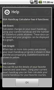 EGA Handicap Calculator Donate- screenshot thumbnail
