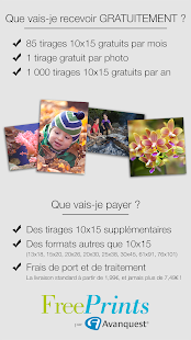 Free Prints - Photos Gratuites - screenshot thumbnail