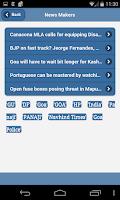 Screenshot of Goa Diary