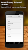 Screenshot of Shopping List - Pro