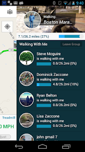 Virtual Walk Treadmill or GPS- screenshot thumbnail