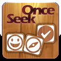 Seek Once icon