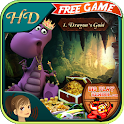 Dragons Gold - Free Kid Puzzle icon