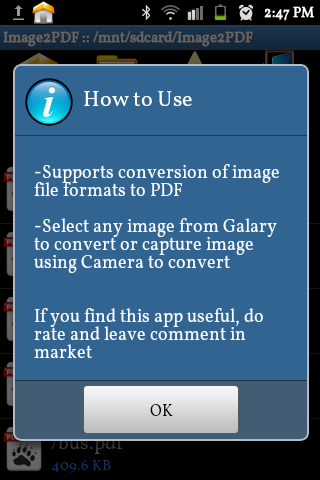 【免費商業App】Image to PDF Converter Demo-APP點子