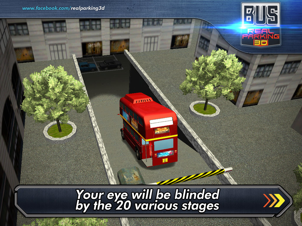 real bus parking 3d