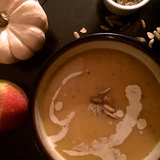Butternut Squash and Apple Soup.