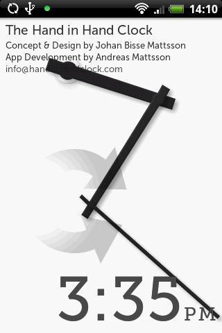 The Hand in Hand Clock- screenshot