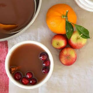 Mulled Cranberry Apple Cider.
