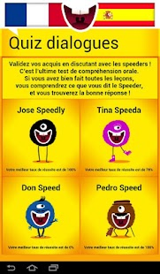 Parlez Espagnol-Speed Speaking- screenshot thumbnail