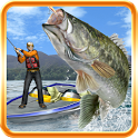 Bass Fishing 3D on the Boat icon