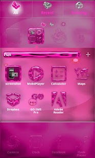 Pink Leopard Icon Pack- screenshot thumbnail