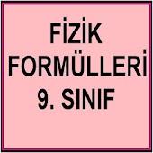 Fizik Formülleri 9. Sınıf