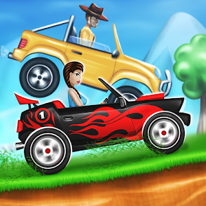Hill Racing Online Multiplayer 賽車遊戲 App LOGO-APP試玩
