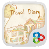 Travel Diary GO Launcher Theme