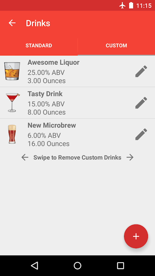 Blood Alcohol Finder - screenshot