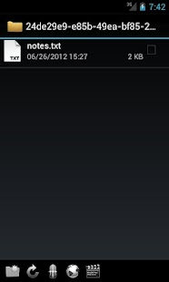 WebDAV Navigator- screenshot thumbnail