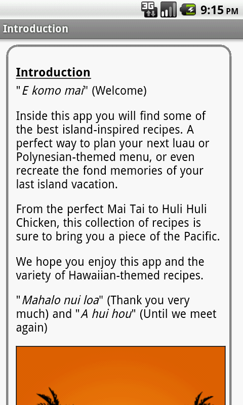 Hawaiian Recipes Free- screenshot