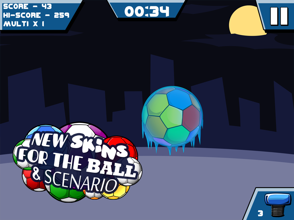 Tap it Up! Keepy Uppy Game - screenshot