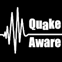 QuakeAware Earthquakes Near Me icon