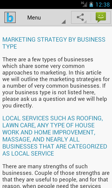 Marketing Plan & Strategy - screenshot