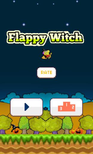 Flappy Witch - Halloween
