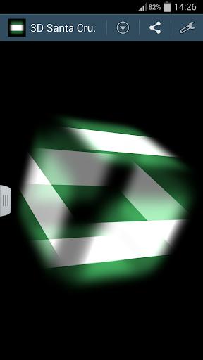 3D Santa Cruz Cube Flag LWP