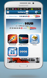 LotteryHUB - Powerball Lottery- screenshot thumbnail