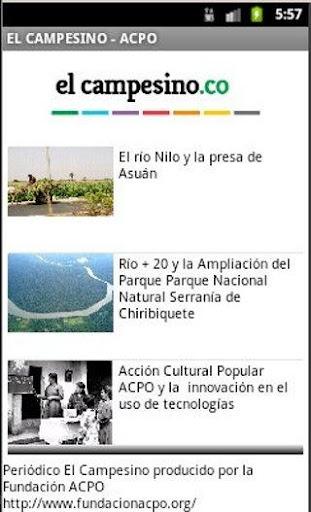 Periódico El Campesino - ACPO