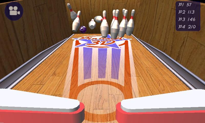 3D Pinball Bowling - screenshot