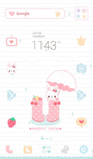 happy rain dodol theme