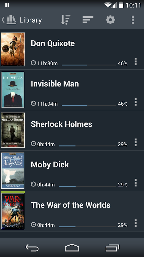 Listen Audiobook Player - screenshot