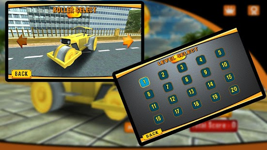Road Roller Construction 3D- screenshot thumbnail