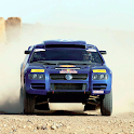 Volkswagen Race Touareg Theme logo