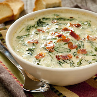 Healthy Hot Artichoke Spinach Dip