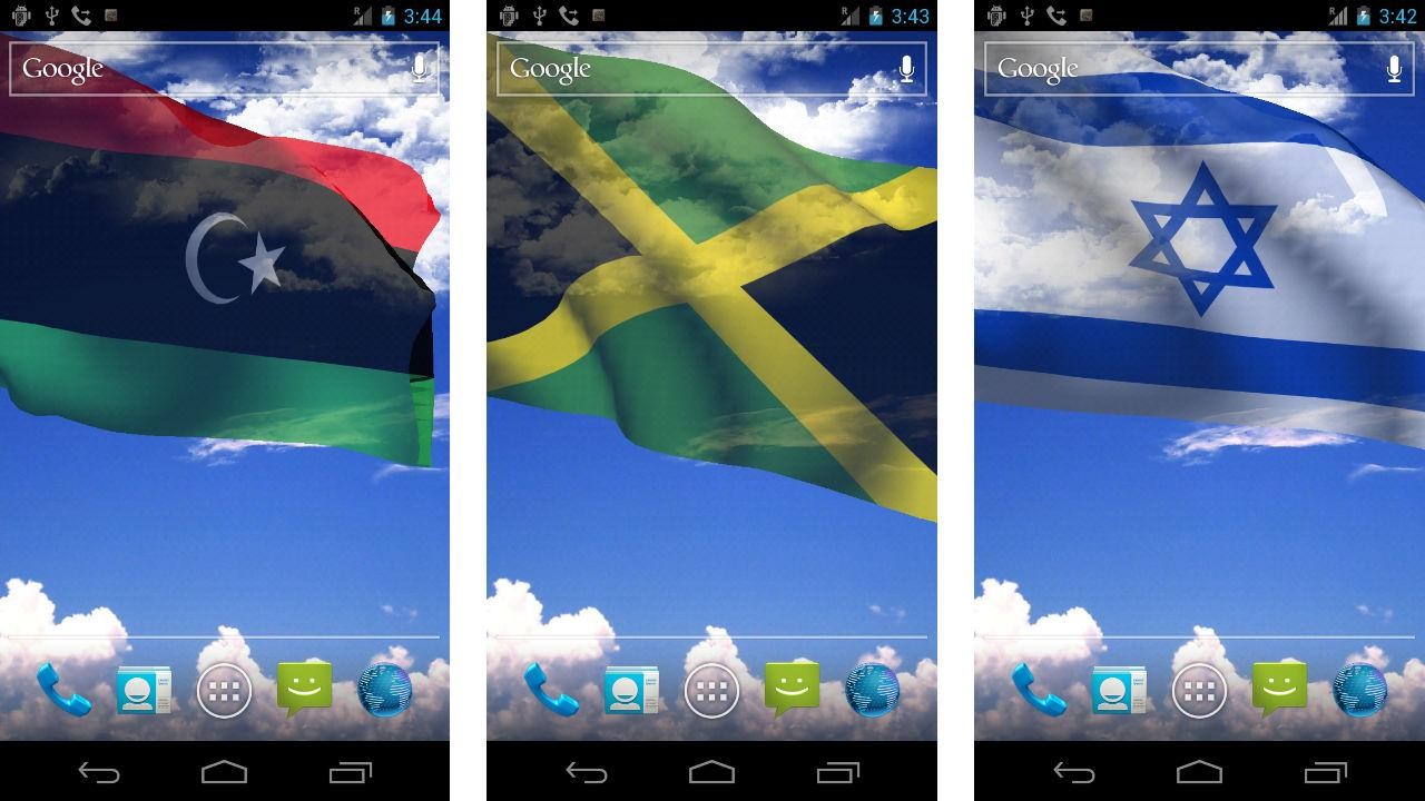 My Country Flag Live Wallpaper - screenshot