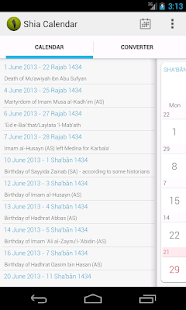 Shia Calendar - screenshot thumbnail