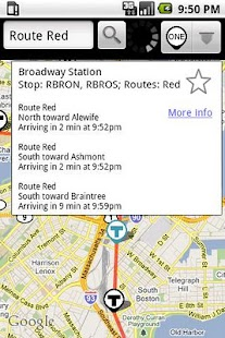 BostonBusMap - screenshot thumbnail