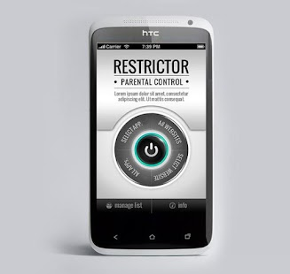 Restrictor Parental Control screenshot