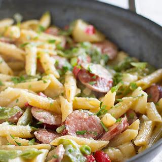 Skillet Pasta with Sausage Recipe