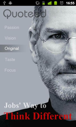 Quoteed-Steve Jobs